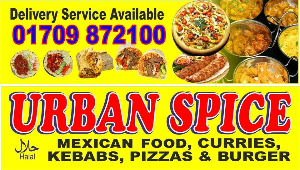 Urban Spices In Wath Upon Dearne Restaurant Menu And Reviews