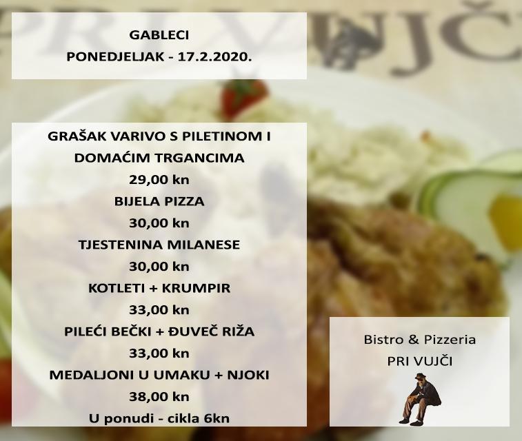 Pri Vujci Restaurant Zagreb Restaurant Menu And Reviews