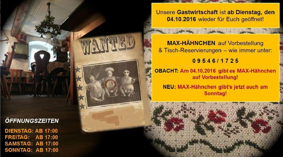 Zum Max Burgebrach Ampferbach 25 Restaurant Reviews