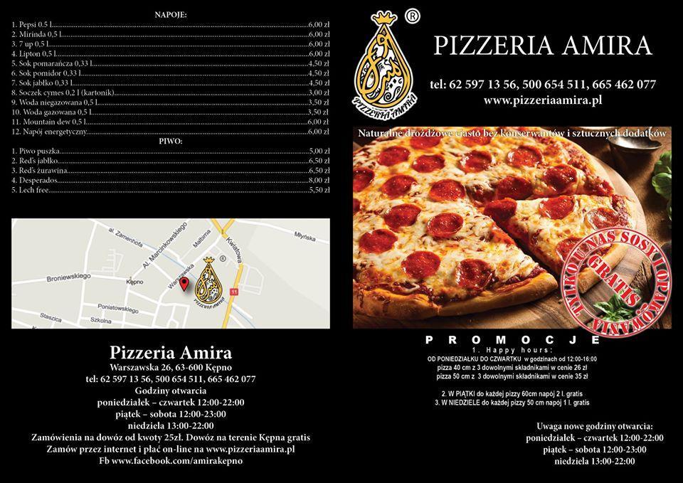 Amira Restaurant Kepno Restaurant Menu And Reviews