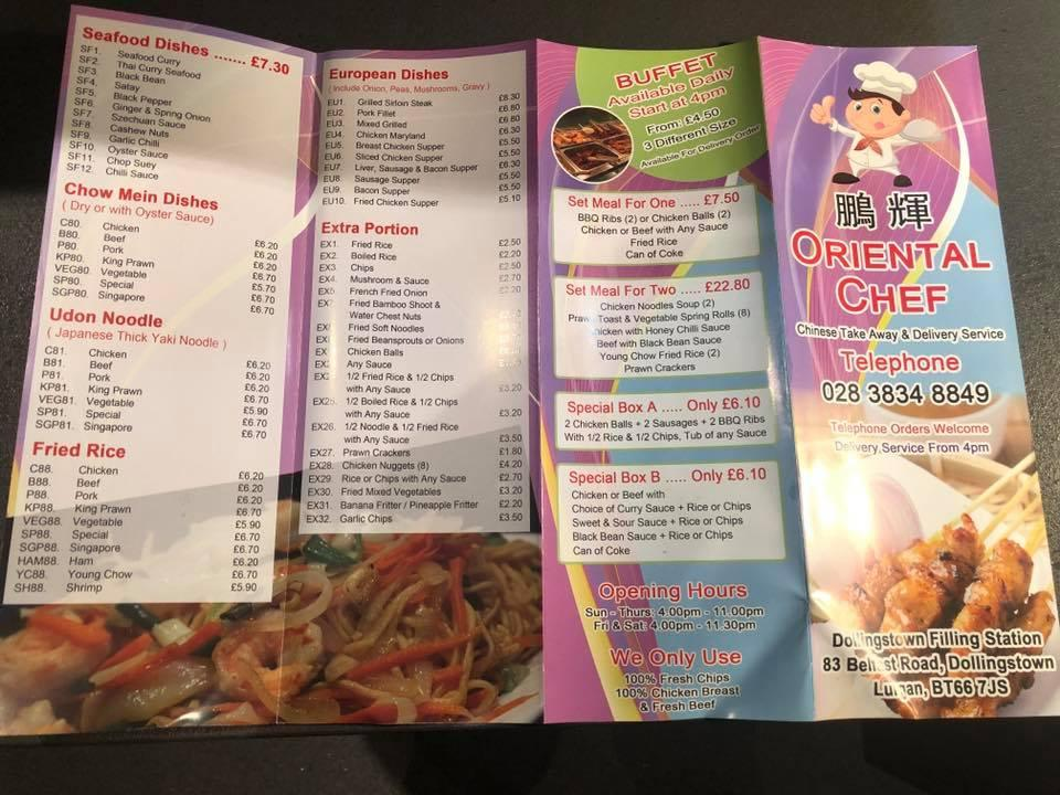Oriental Chef in Lurgan - Restaurant reviews