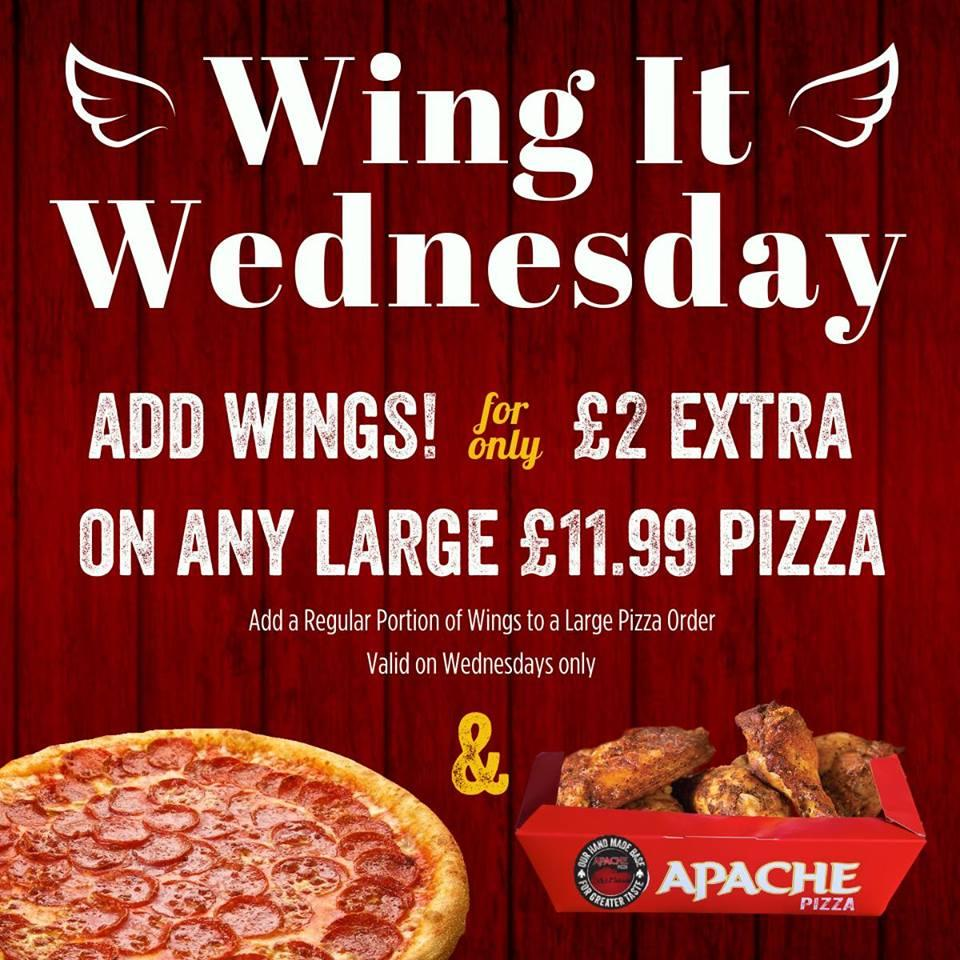 Apache Pizza Downpatrick In Downpatrick Restaurant Menu