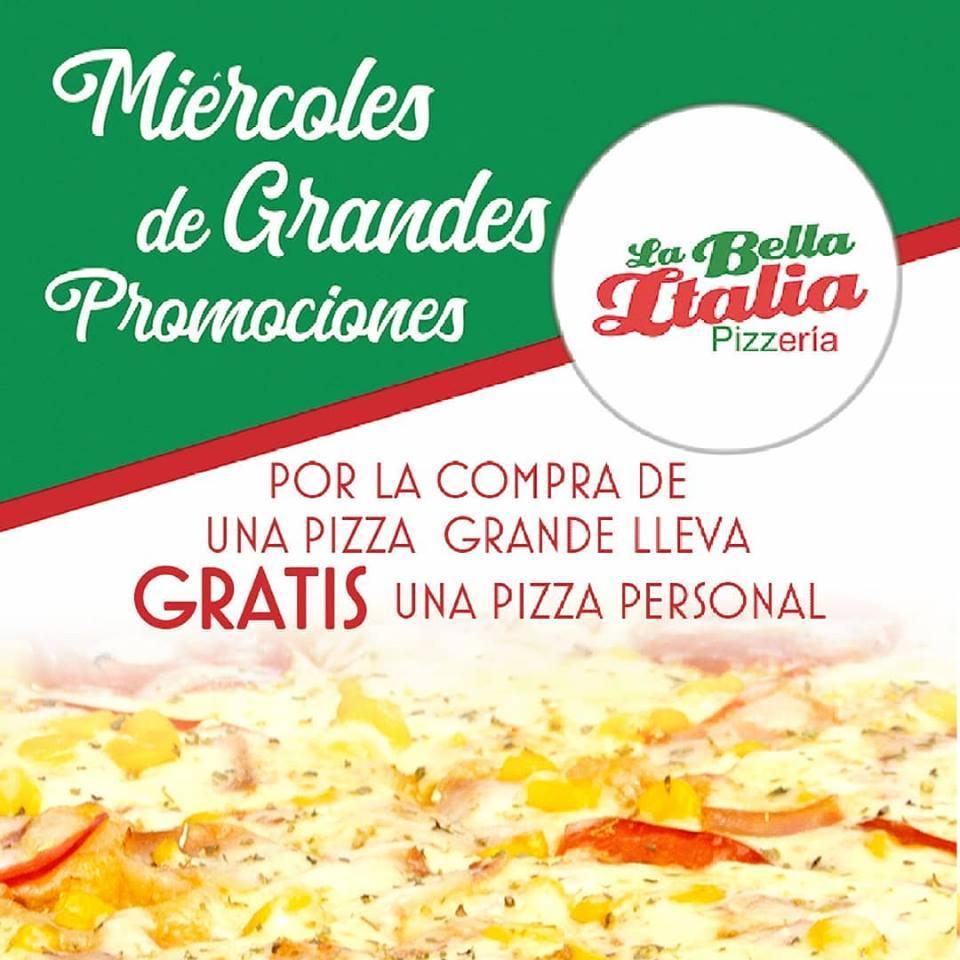 La Bella Italia Pizzería Jamundí Restaurant Menu And Reviews