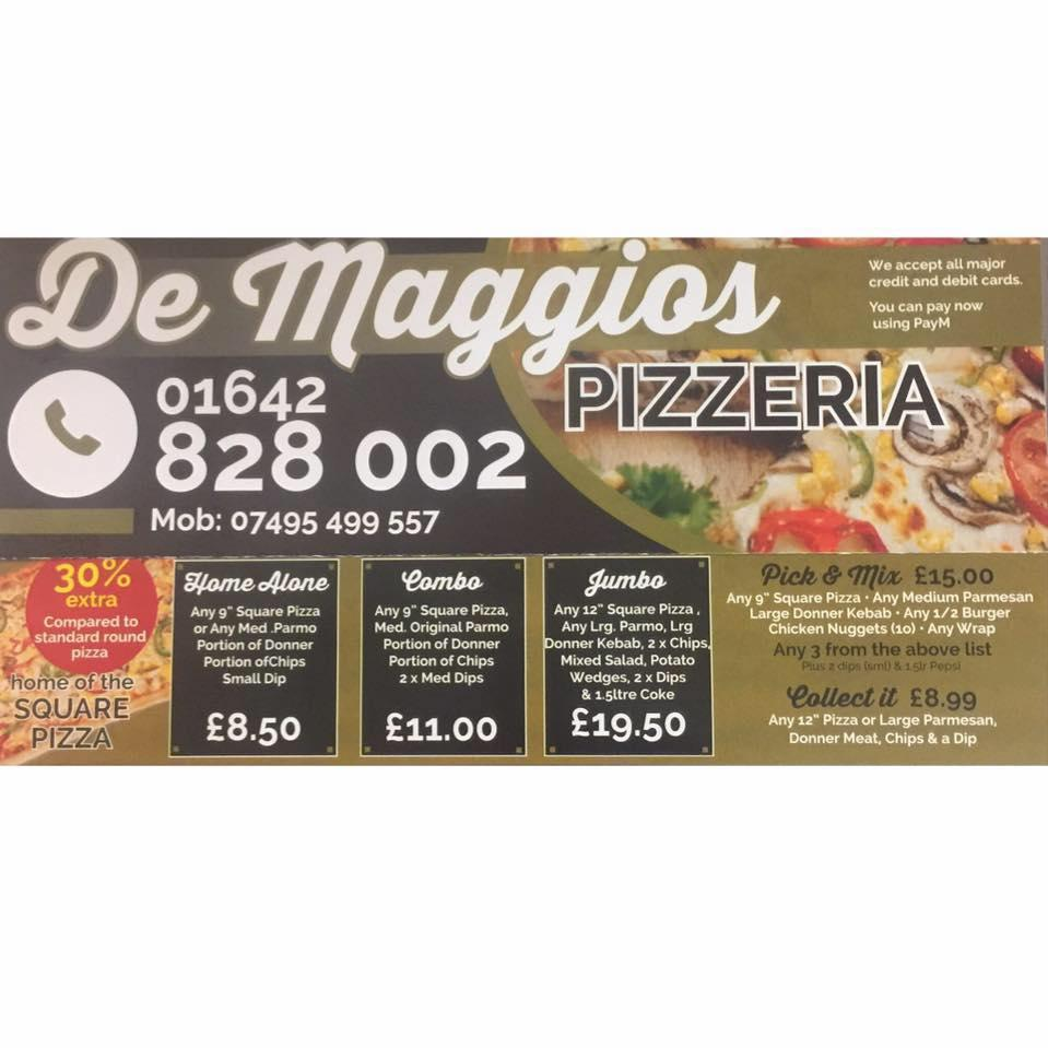 De Maggios In Middlesbrough Restaurant Menu And Reviews