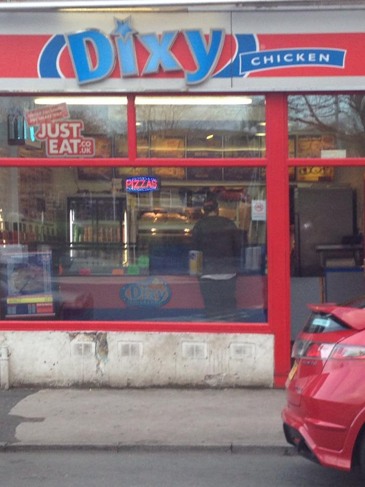 Dixy Fried Chicken 108 Whalley New Rd In Blackburn