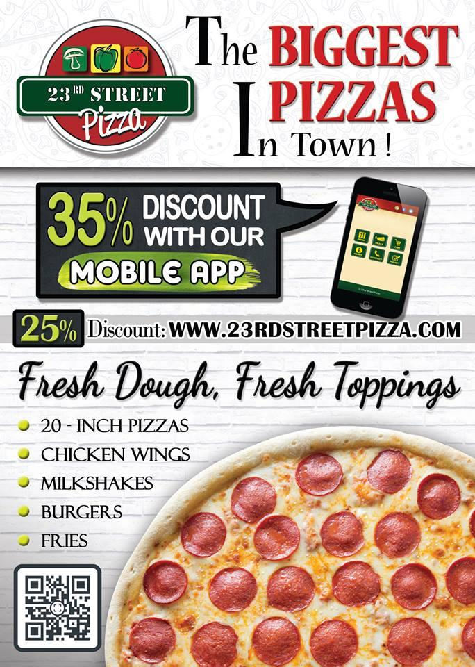 23rd Street Pizza 995 Stockport Rd In Manchester
