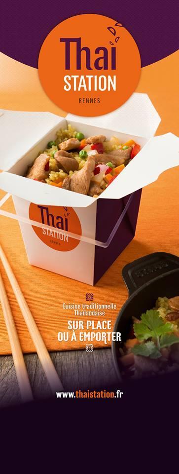 Thai Station Restaurant Rennes 12 Rue De Suede Restaurant Menu