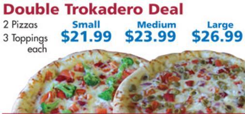 Pizza Trokadero photo