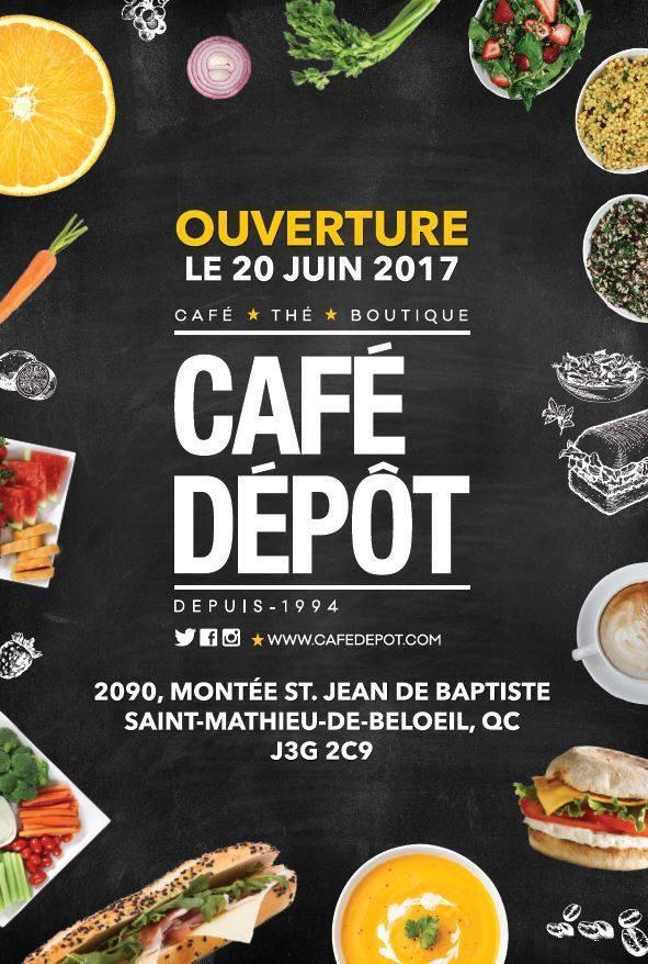Cafe Depot In Saint Mathieu De Beloeil Restaurant Menu And Reviews