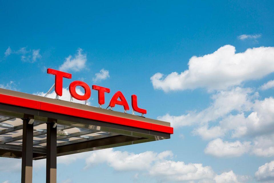 TotalEnergies Tankstelle Foto