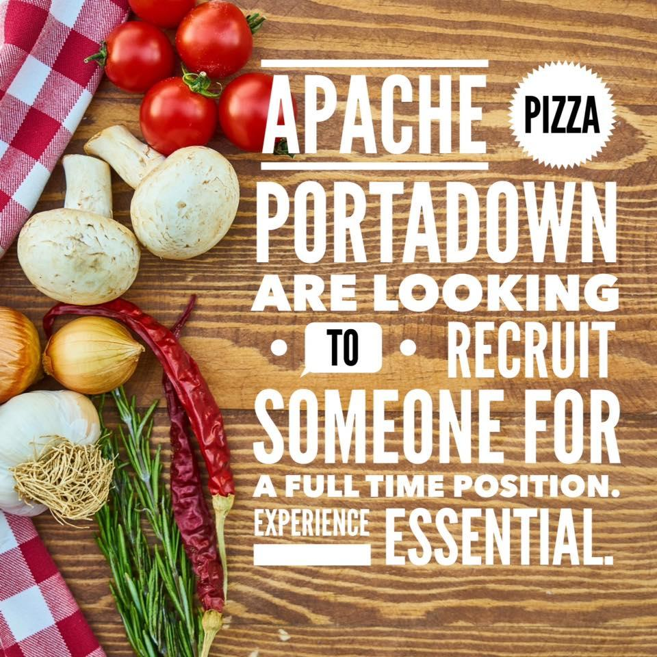 Apache Pizza In Portadown Restaurant Menu And Reviews