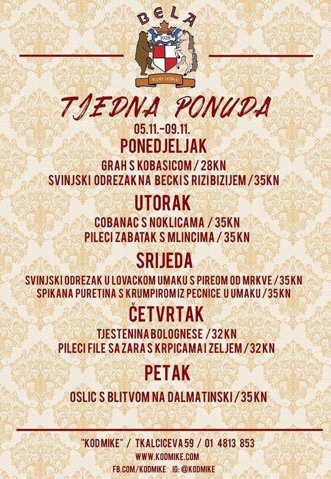 Kod Mike Restaurant Zagreb Restaurant Reviews