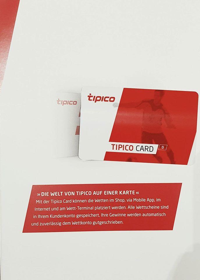 Tipico Card Anmelden