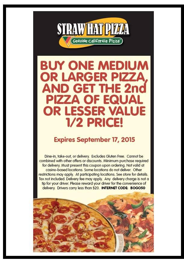 Straw Hat Pizza photo