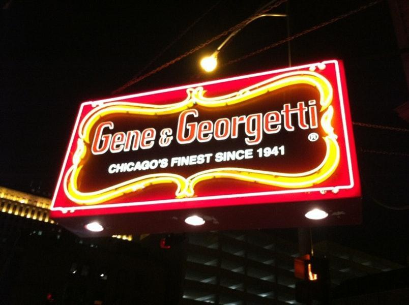 Gene & Georgetti photo