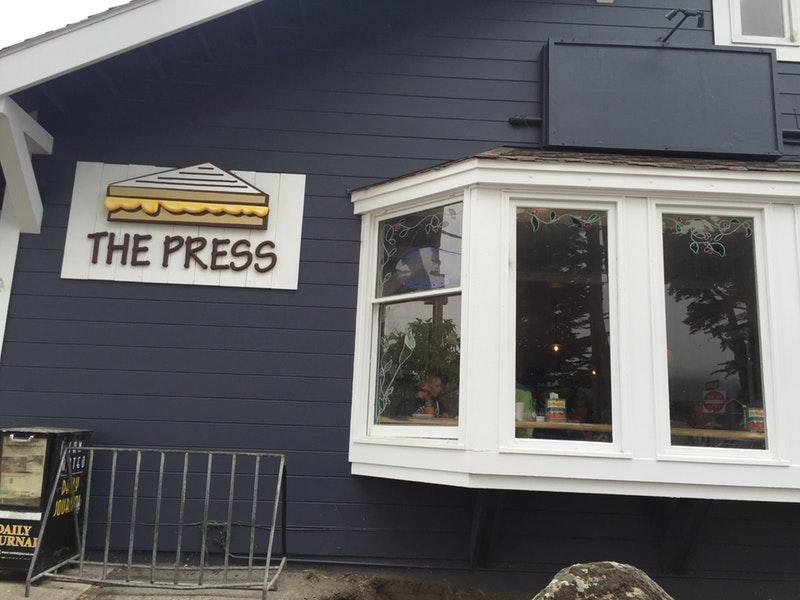 The Press photo