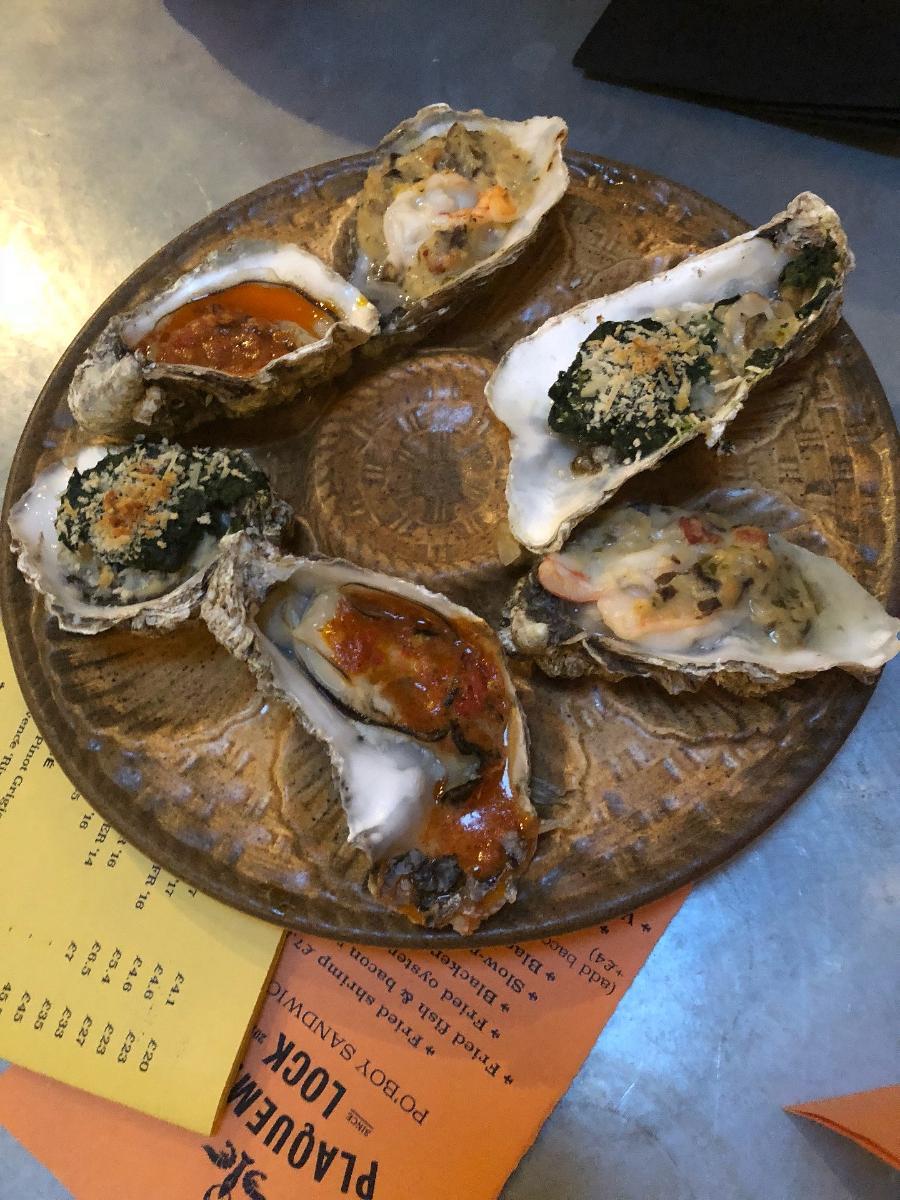 Plaquemine Lock in London - Restaurant menu and reviews