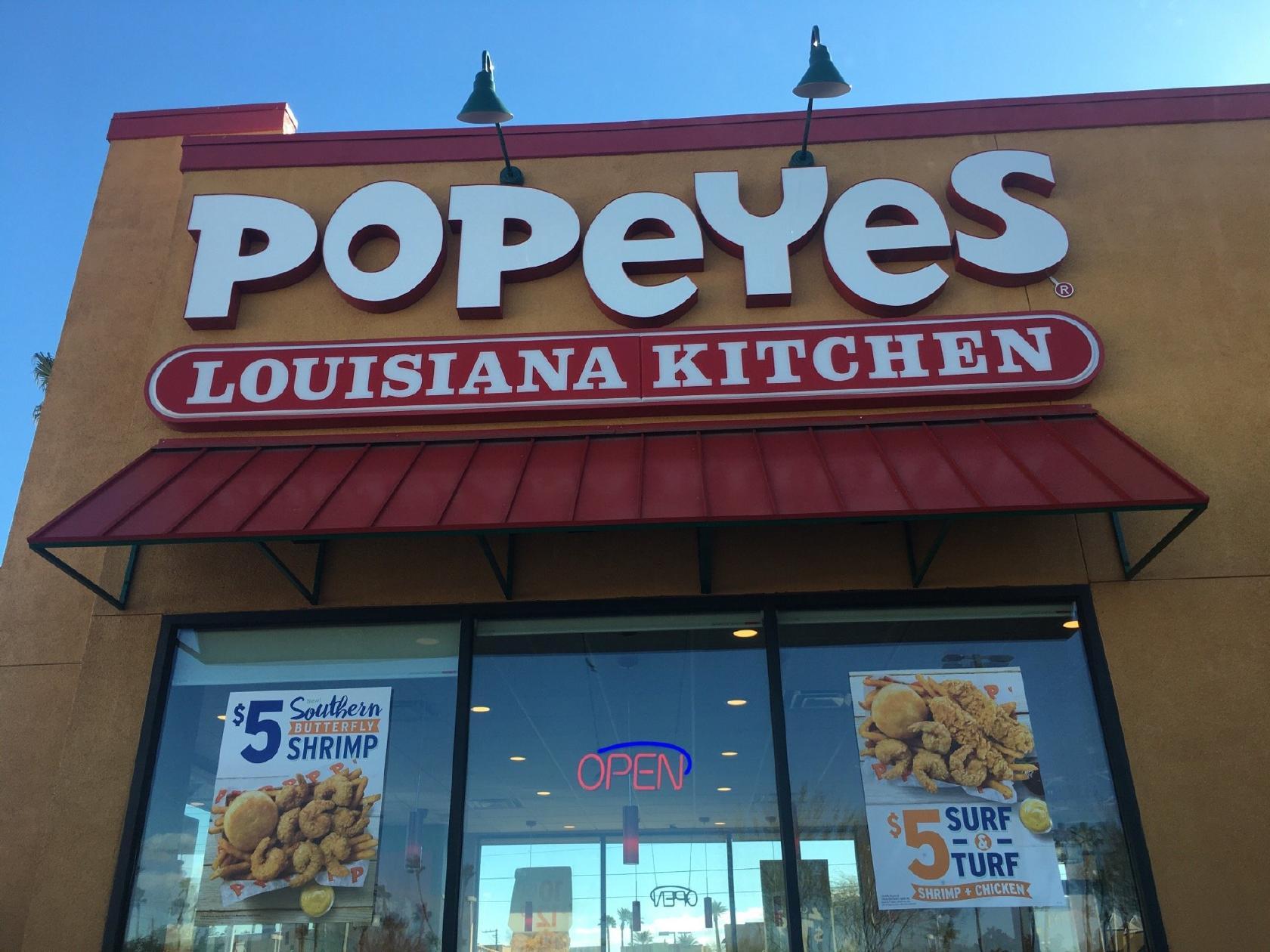 Popeyes Louisiana Kitchen 4001 S Decatur Blvd In Las Vegas Restaurant Reviews