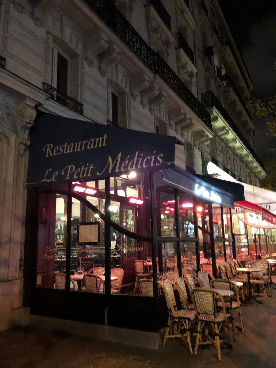 Le Petit Medicis Restaurant Paris 13 Rue De Médicis Restaurant Menu And Reviews