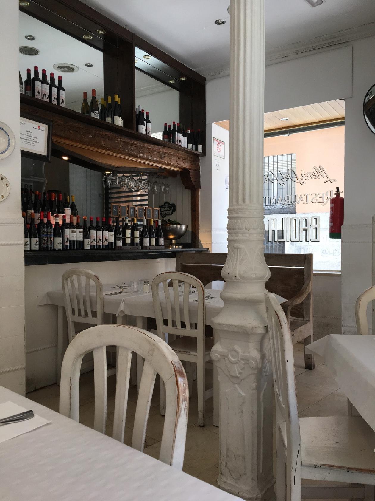 Restaurante Badila Madrid Calle De San Pedro Martir Opiniones Del Restaurante