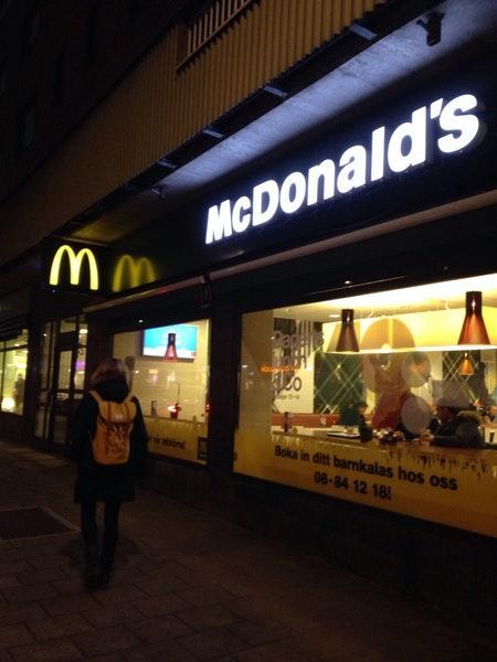 Mcdonalds Hornsgatan
