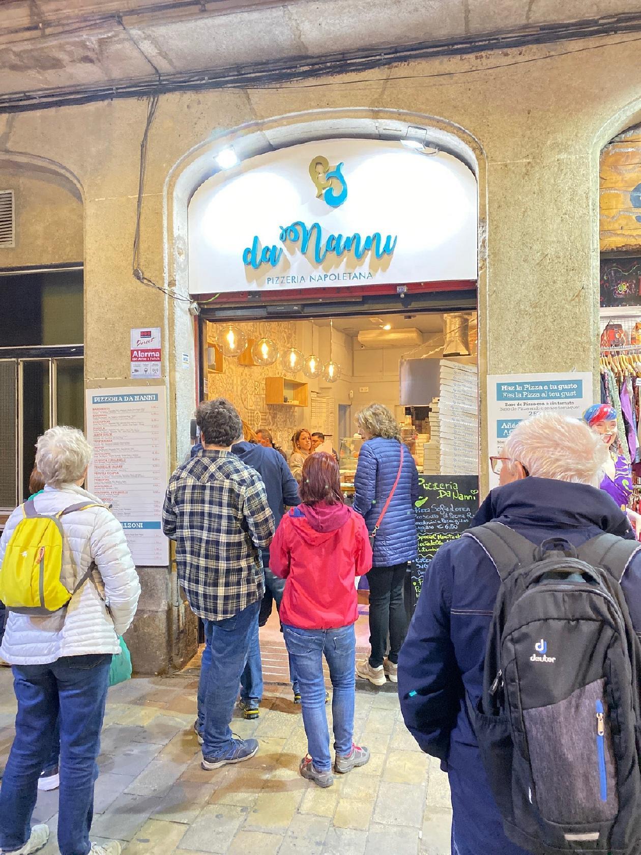 Pizzeria Da Nanni In Barcelona Restaurant Reviews