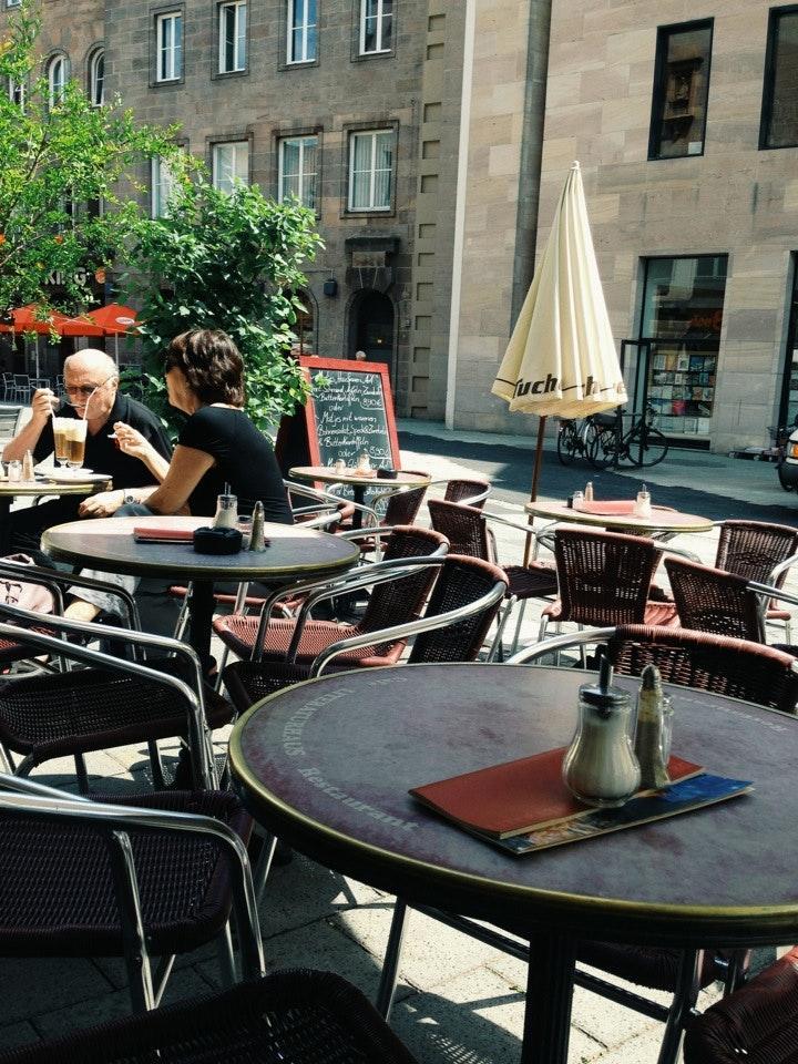 Restaurant im Literaturhaus Foto