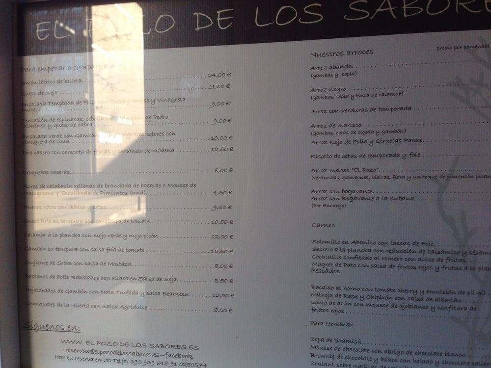 Restaurante El Pozo Del Los Sabores Alcala De Henares Opiniones Del Restaurante
