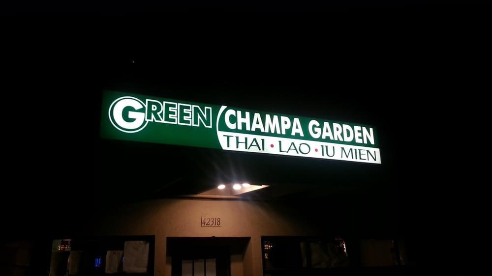 Green Champa Garden In Fremont Restaurant Reviews