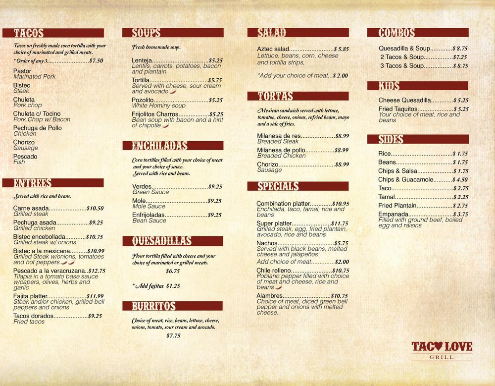 Taco Love Grill photo