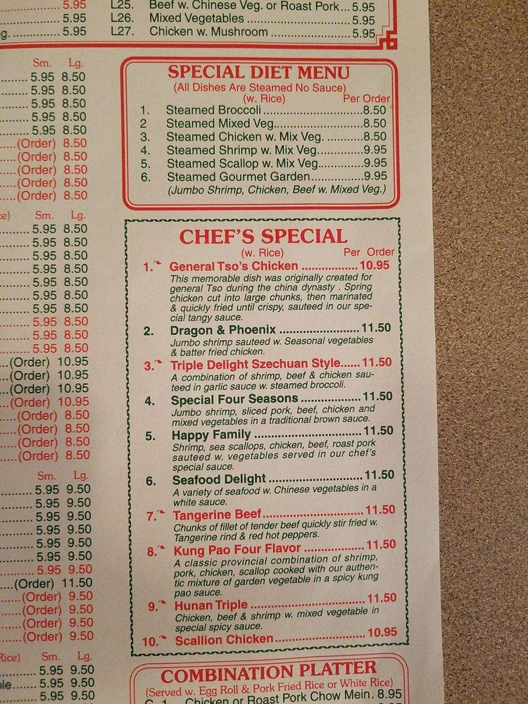 China Garden 3489 Us 601 In Concord Restaurant Menu And Reviews