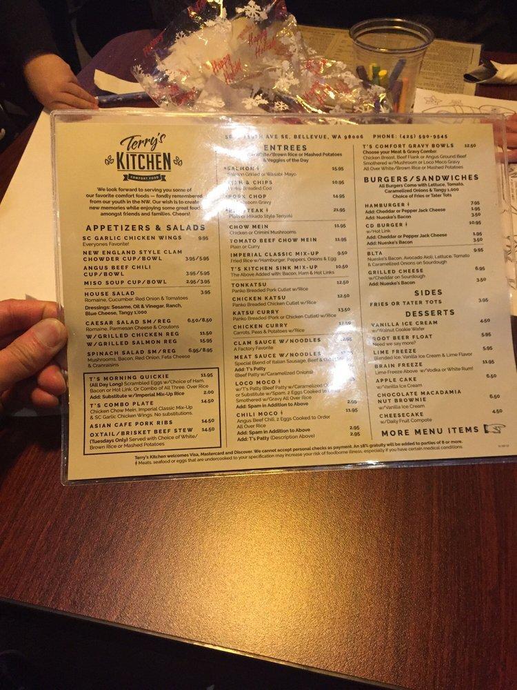 Terry S Kitchen In Bellevue Restaurant Menu And Reviews