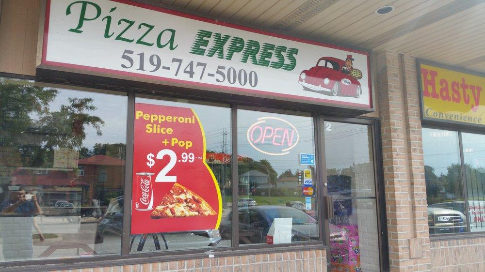 Pizza Express 255 Highview Dr In Kitchener Restaurant