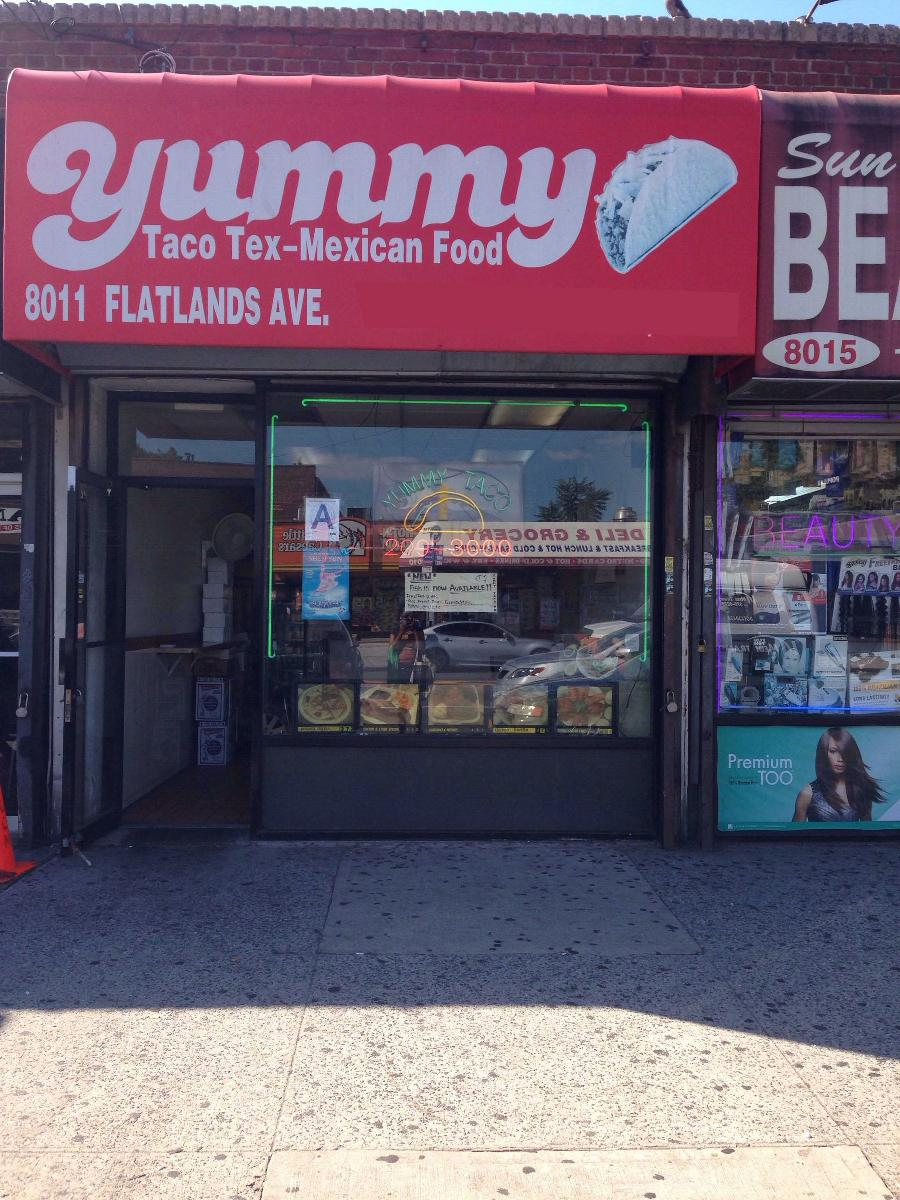 Yummy Taco, 12 Flatlands Ave in New York City   Restaurant menu ...
