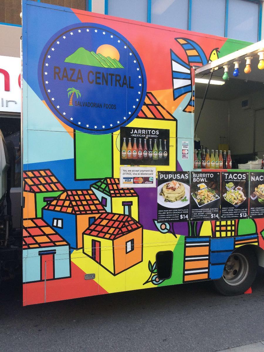 Raza Central Pupusas Food Truck In Sydney Restaurant Reviews