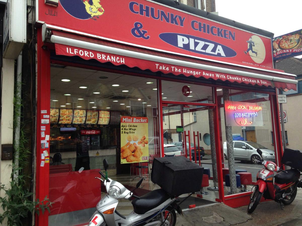 Chunky Chicken And Pizza 279 Ilford Ln In Ilford