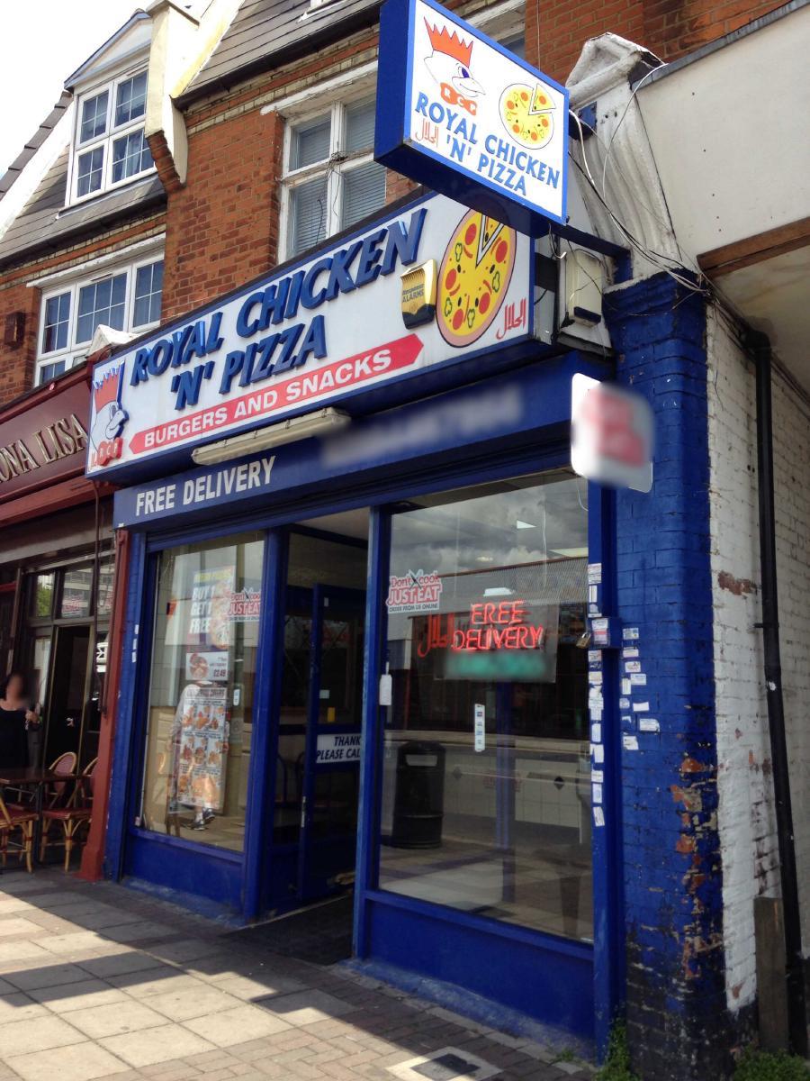 Royal Chicken N Pizza 1178 High Rd In London Restaurant