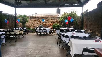 Terraza Para Fiestas Rojo Adobe Restaurant Guadalajara