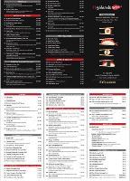 Menu at Shanghai Chinese Restaurant, Bowral