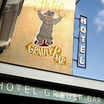Grauer Bar