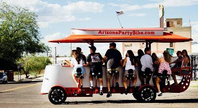 Arizona Party Bike - Scottsdale