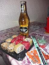 I want sushi