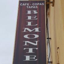 Belmonte café tapas copas