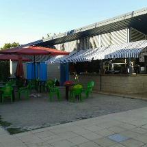 Bar, piscina municipal de Can Marcet