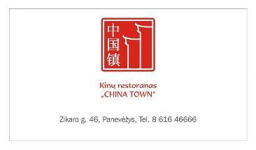 Kinų virtuvės restoranas Baiji