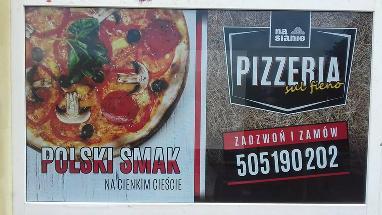na sianie pizzeria