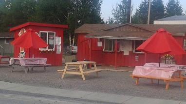 Oly's Little Red Chip Wagon