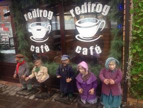 Средневековое кафе Red Frog
