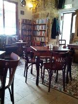 Tmol Shilshom Bookstore Cafe