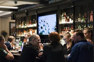 Lithuanian Pub Entry